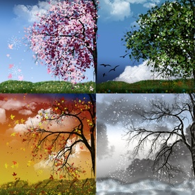 Dedicate A Year To Enjoying the Seasons - Bucket List Ideas