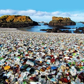 Visit Glass Beach at Fort Bragg - Bucket List Ideas