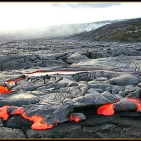 Go On A Lava Hike - Bucket List Ideas