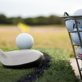 Hit golf balls at a driving range - Bucket List Ideas