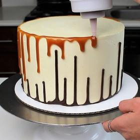 Attempt an Upside Down Drip Cake - Bucket List Ideas