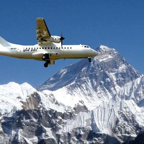 Take a Scenic Flight Over the Himalayas - Bucket List Ideas