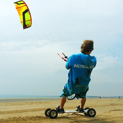 ⚜️Go  Kite landboarding - Bucket List Ideas