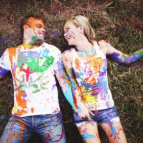 Have a paint fight - Bucket List Ideas