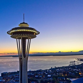 Look out of the Space Needle - Bucket List Ideas