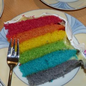 Bak een regenboogcake - Bucket List Ideas