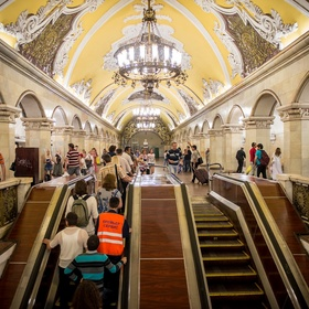 Ride the Metro in Moscow - Bucket List Ideas