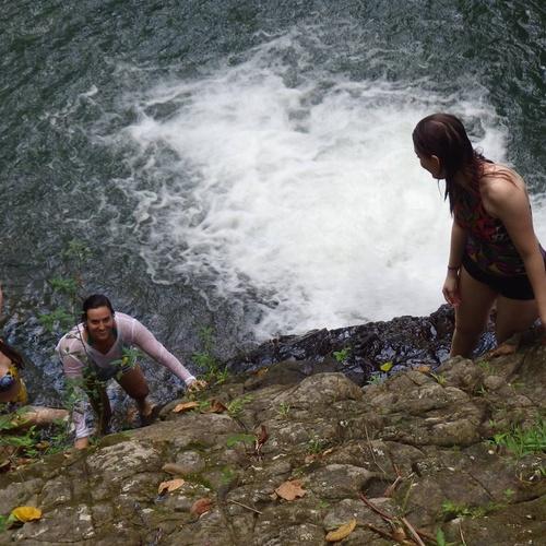 Swim, Slide, & Jump into a waterfall - Bucket List Ideas