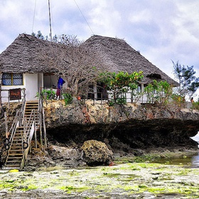 Eat at the Rock Restaurant in Zanzibar, Tanzania - Bucket List Ideas