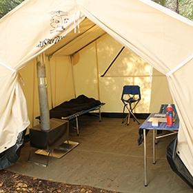 Sleep in a Prospector Tent - Bucket List Ideas