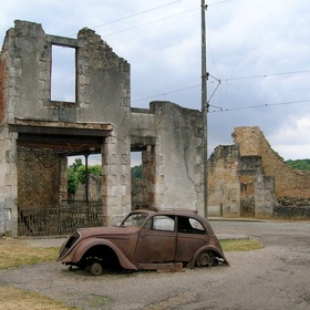 Visit the ghost town Oradour sur Glane in France - Bucket List Ideas