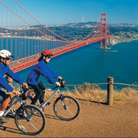 Bike Across The Golden Gate Bridge - Bucket List Ideas
