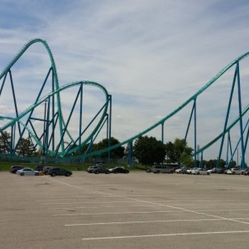 Ride the Leviathan at the country's largest theme park Canada's Wonderland - Bucket List Ideas