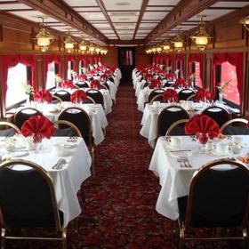 Ride a dinner train - Bucket List Ideas