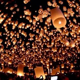 Go to a Floating Lanterns Festival - Bucket List Ideas