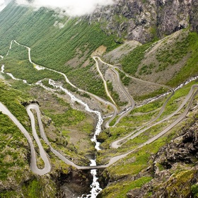Drive along the Trollstigen road in Rauma, Norway - Bucket List Ideas