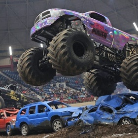 Go to a monster truck rally - Bucket List Ideas