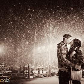 Kiss in the snow - Bucket List Ideas