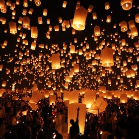 Go to all of the top ten celebrations around the world - Bucket List Ideas