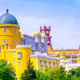 Visit the Pena Palace in Sintra, Portugal - Bucket List Ideas