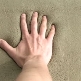 Put My Hand Print in Wet Cement - Bucket List Ideas
