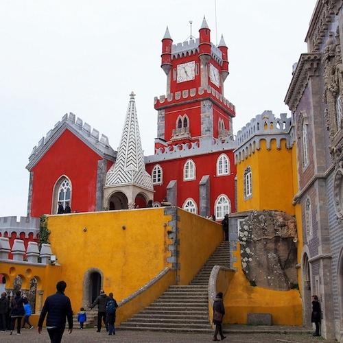Visit Pena palace ~Portugal - Bucket List Ideas
