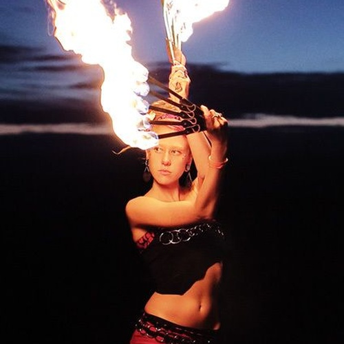 Own a collapsible fire fan - Bucket List Ideas