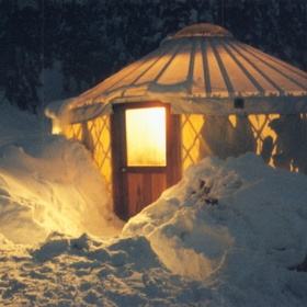 Camp in a Yurt - Bucket List Ideas