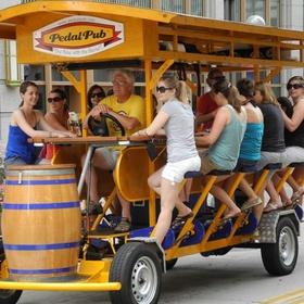 Ride the pedal pub - Bucket List Ideas