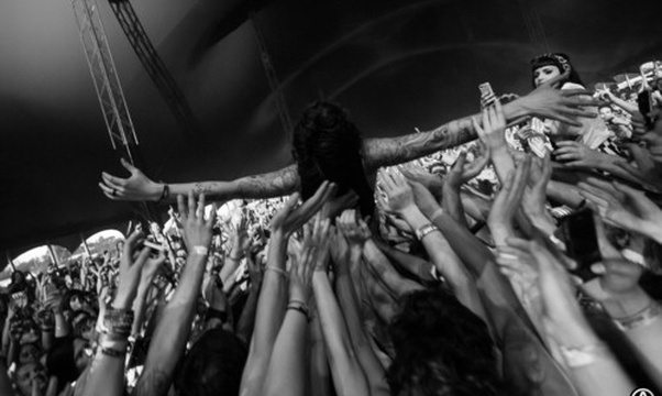 Crowd surf - Bucket List Ideas