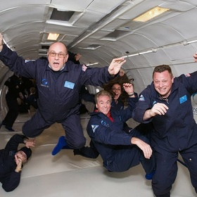 Experience weightlessness - Bucket List Ideas