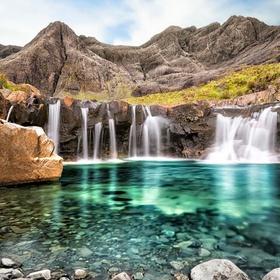 Visit the fairy pools on the Isle of Skye, Scotland - Bucket List Ideas