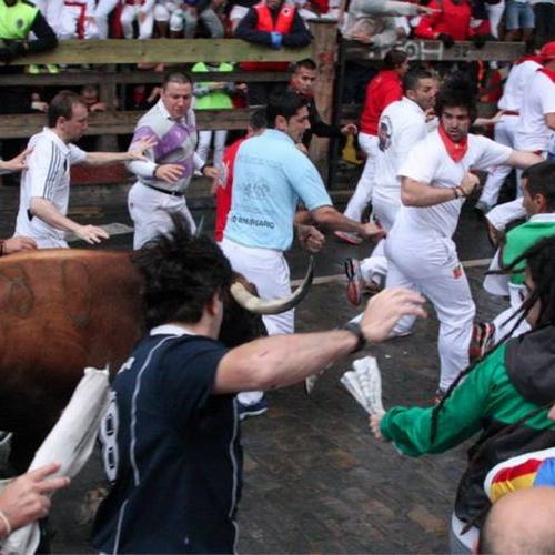 Run with the bulls in Pamplona, Spain - Bucket List Ideas