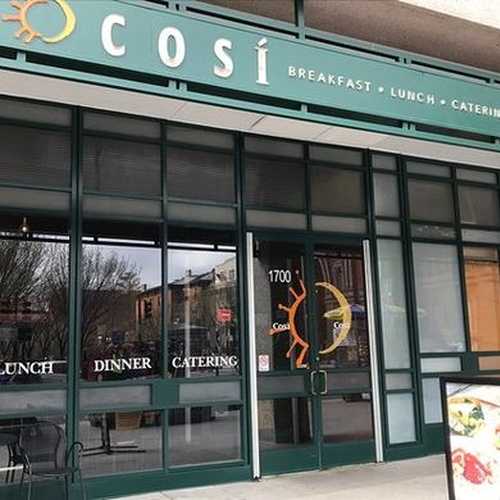 Eat at Cosi - Bucket List Ideas