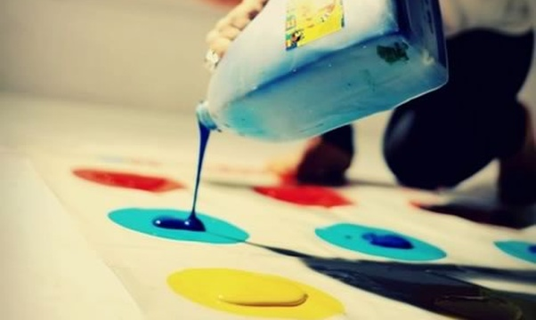 Play messy twister - Bucket List Ideas