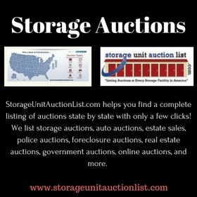 Storage Auction - Bucket List Ideas