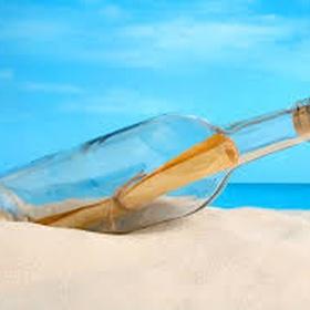 Send/find a message in a bottle - Bucket List Ideas