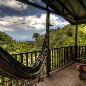 Stay a night at Crescent Moon Cabins in Dominica - Bucket List Ideas