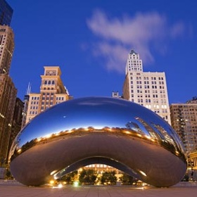 Take a Picture in Front of the Bean - Bucket List Ideas