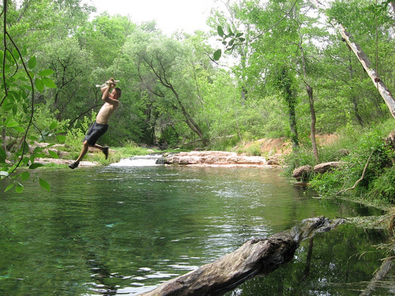 Bucketlist rope swing into water official bucket list for Rope swing plans