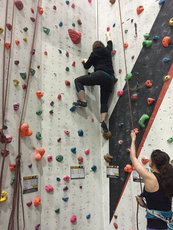 Go rock climbing - Bucket List Ideas