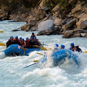 Go White Water Rafting on Kicking Horse River in Canada - Bucket List Ideas
