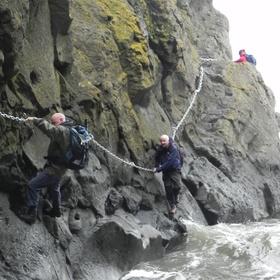 Do the Elie Chain Walk - Bucket List Ideas