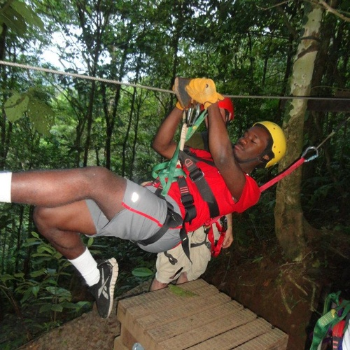 Go on a canopy tour (traverse between trees on a zip line) - Bucket List Ideas