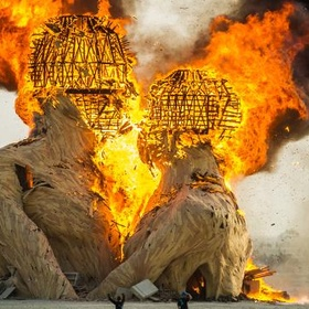 Go to Burning Man Festival - Bucket List Ideas