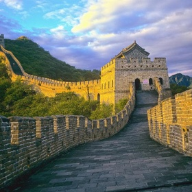 Camp in the Great Wall of China - Bucket List Ideas