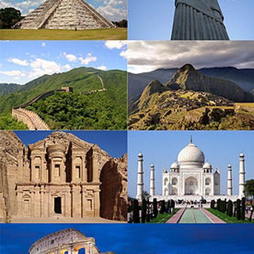 Visit the 7 wonders of the World! - Bucket List Ideas