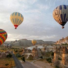 Hot air ballooning over cappadocia - Bucket List Ideas