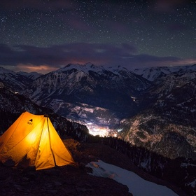 Spend a night in a tent - Bucket List Ideas