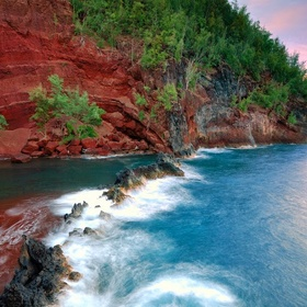 Go to a Red Sand Beach - Bucket List Ideas